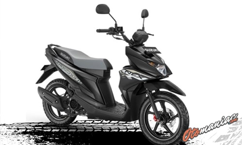 Pilihan Warna Suzuki Nex Crossover Titan Black
