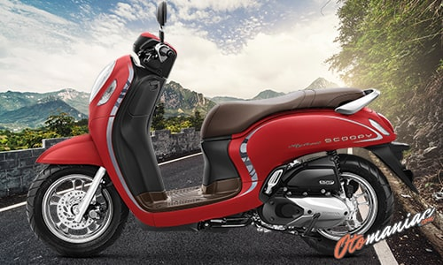Pilihan Warna Honda All New Scoopy 2