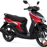 Warna Yamaha Gear 125 Metallic Red