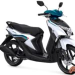 Warna Yamaha Gear 125 Metallic White