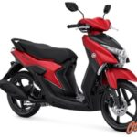 Warna Yamaha Gear 125 S Matte Red