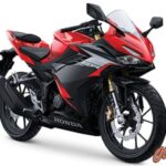 CBR150R Gen5 Warna Victory Black Red