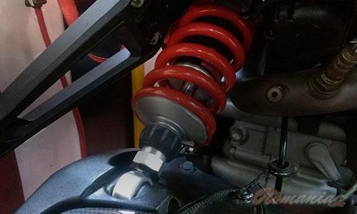 Komponen Motor Rawan Rusak Suspensi