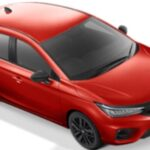 Warna Honda City Hatchback RS Rallye Red
