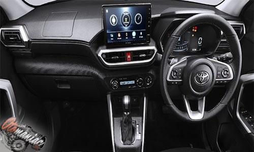 Desain Interior Toyota Raize