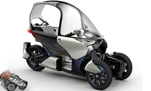 Motor Listrik Yamaha MW-Vision