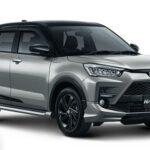 Pilihan Warna Toyota Raize Silver Metallic Black