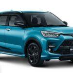 Pilihan Warna Toyota Raize Turqoise MM