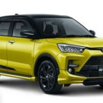 Pilihan Warna Toyota Raize Yellow Black