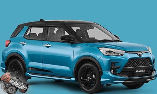 Spesifikasi Toyota Raize 1.0T