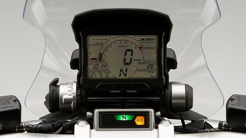 Rally Style instrument display